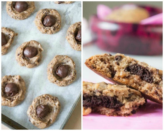 Cocoa Truffle Chocolate Chip Cookies