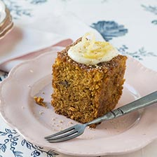 Spiced Carrot Cake With Cream Cheese Frosting Recipe