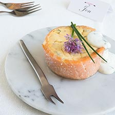 Smoked Salmon Quiche Appetizers Recipe