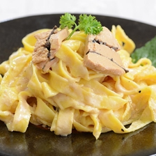 Easy Pasta with Truffle Foie Gras Recipe