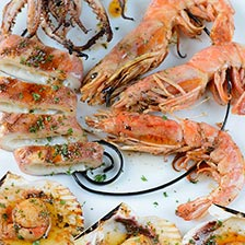 Grilled Seafood With Spiced Citrus Sauce Recipe