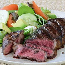 American Bison New York Strip Steaks | Gourmet Food World