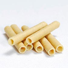 Cigarette Wafer Rolls, Butter, 3.75 Inch