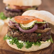 Cervena Venison Burger Recipe | Gourmet Food World