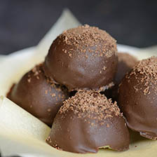 Champagne Chocolate Truffles Recipe  | Gourmet Food World