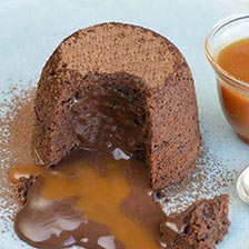 Chocolate Fondant Cake Recipe (Lava Cake)