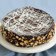Chocolate Truffle Cake, Flourless