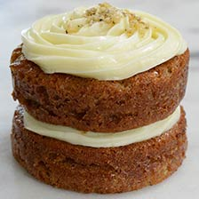 Country Carrot Layer Cake - Individual Portion