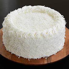 Divine Coconut Cream Cake