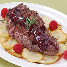 Duck Breast With Berry Compote