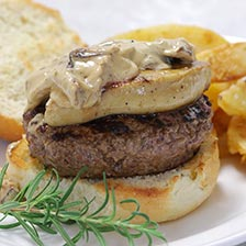 Grass Fed Bee Burgers With Foie Gras Recipe