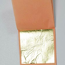 Decorating Gold Leaf Sheets - 3 3/8 inch, Edible