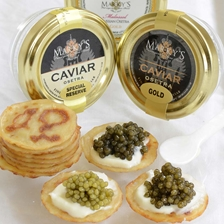 Golden Russian Osetra Caviar Taster Set