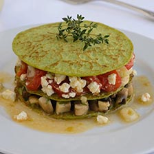 Green Pea Blini Recipe