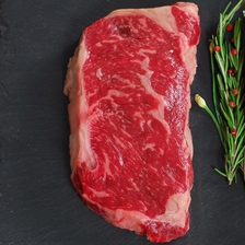 Wagyu Beef New York Strip Steak - MS6 - Whole, Cut To Order