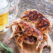 Grilled Quail Recipe | Gourmet Food World