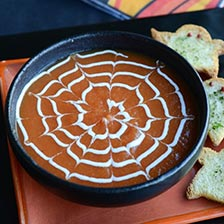 Have A Spooky Halloween With Our Spider Web Soup Recipe!