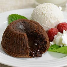 Hot Chocolate Lava Cake - Individual Portion