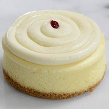 Key Lime Raspberry Cheesecake - Individual Portion