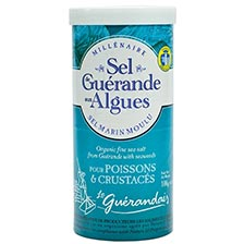 Fine Sea Salt from Guerande with Seaweeds