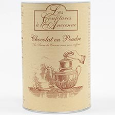 French Hot Chocolate Powder Canister