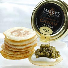 Osetra Golden Imperial Russian Caviar Gift Set