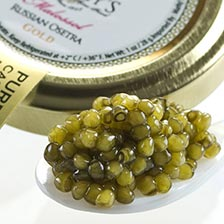 Osetra Karat Gold Russian Caviar - Malossol, Farm Raised