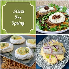 A Menu For Early Spring