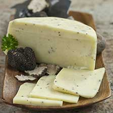 Caciotta al Tartufo Truffled Cheese