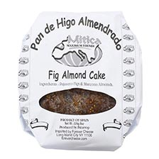 Fig Cake with Marcona Almonds