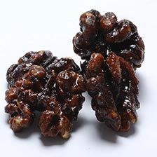 Walnuts, Roasted and Caramelized with Honey