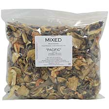 "Mixed Wild ""Pacific"" Mushrooms - Dried"