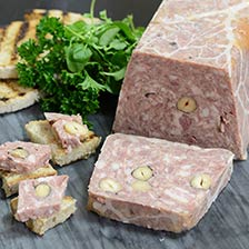 Hazelnut and Honey Pork Pate