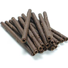 Cigarette Sticks - Dark Chocolate, 4 inch