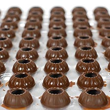 Dark Chocolate Truffle Shells