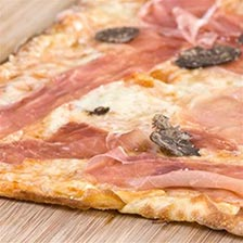 Prosciutto and Truffle Thin Crust Pizza Recipe