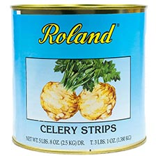 Celery Root Strips