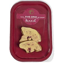 Sliced Fresh Duck Foie Gras - 2 Pieces, Raw, Frozen