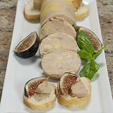 Torchon Style Duck Foie Gras with Port Wine