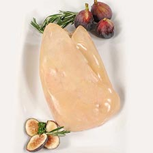 Whole Lobe of Fresh Duck Foie Gras - Grade A, Jumbo Extra, Raw, Frozen