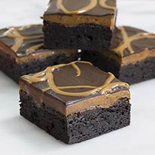 Sweet Endings Salted Caramel Chocolate Brownie Bar | Gourmet Food World