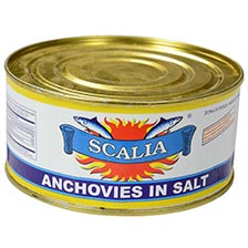 Anchovies in Salt