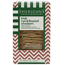 Irish Rye & Linseed Crackers