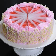 Strawberry Fields Cake