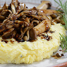 Truffled Balsamic Wild Mushrooms Recipe