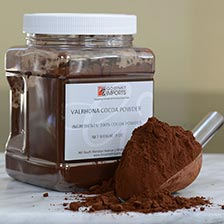 Valrhona Cocoa Powder in a Twist Off Jar