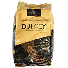 Valrhona Dulcey Blonde Chocolate Pistoles - 32% Feves