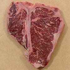 Wagyu Porterhouse Steaks, MS3, 24 oz ea