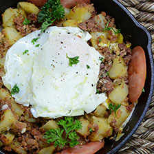 Wagyu Corned Beef Potato Hash Recipe