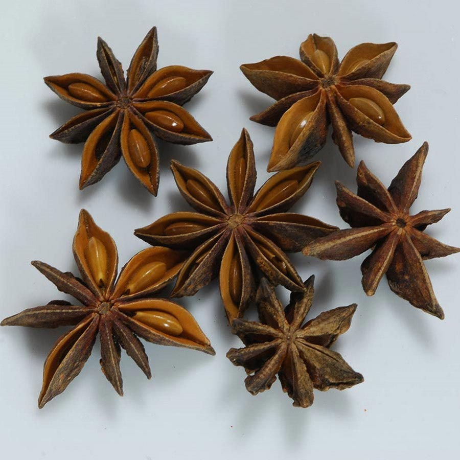 Whole Star Anise Pods   Chinese Star Anise   Dried Anise Star